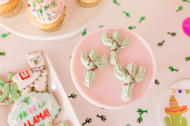Mistletoe and Margaritas Holiday Party Desserts