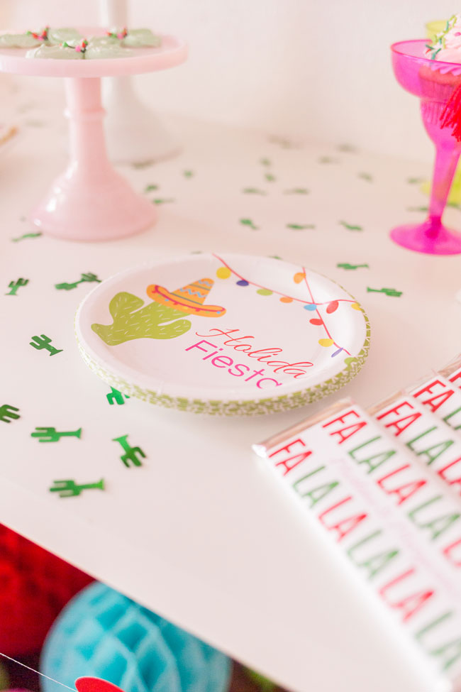 Holiday Fiesta Party Plates