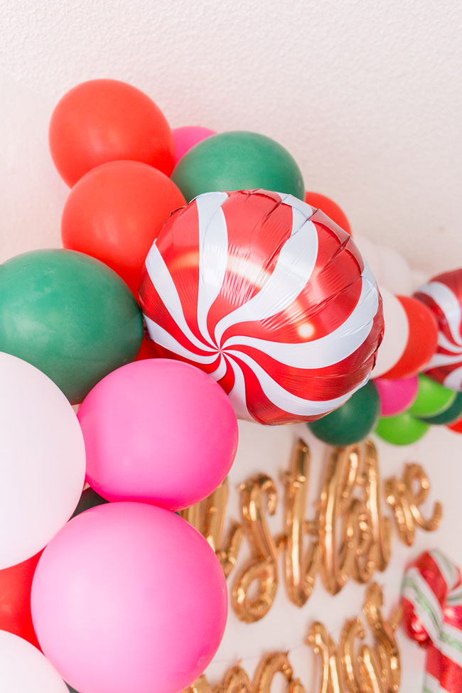 Holiday Party Balloons