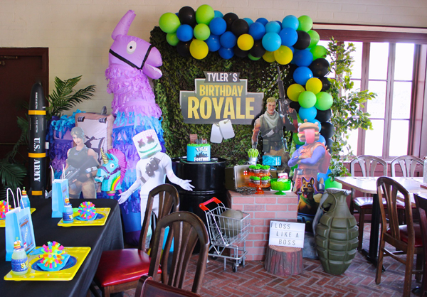 Fortnite Battle Royale Party Ideas