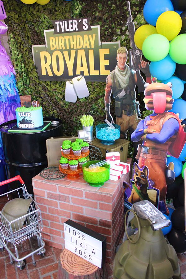 Fortnite Battle Royale Birthday Party