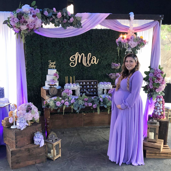 Purple Baby Shower Ideas on Pretty My Party