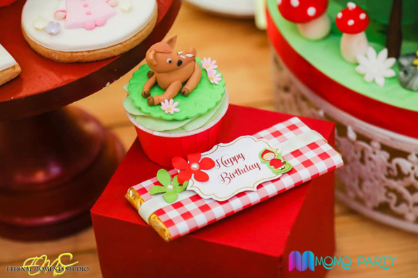 Little Red Riding Hood Birthday Sweets