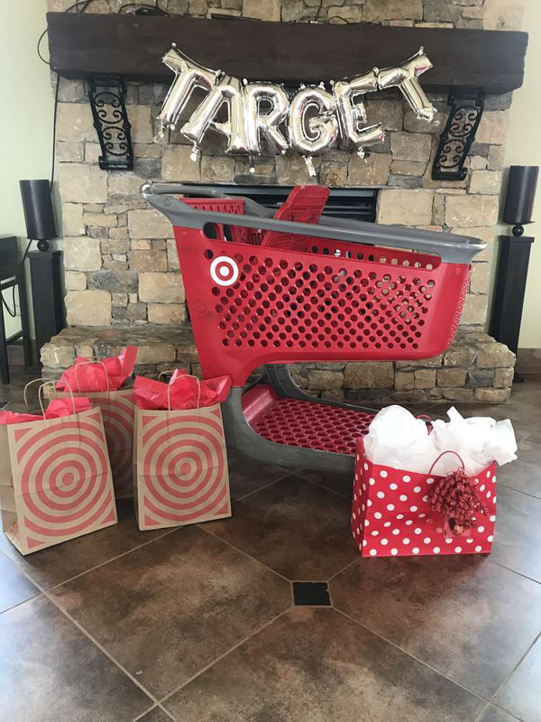 Target Themed Birthday Party Decor
