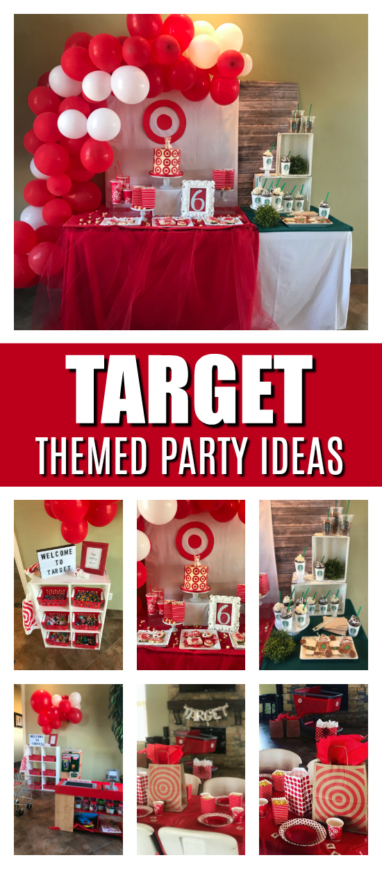 Target Themed Birthday Party on Pretty My Party