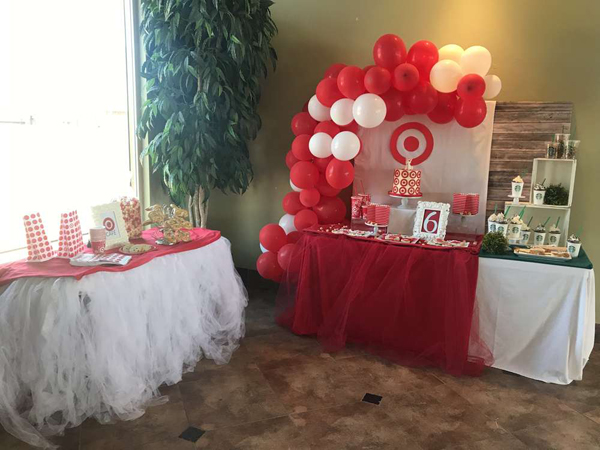 Target Themed Party Ideas