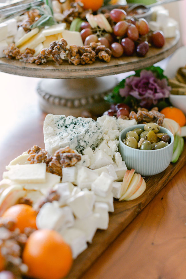 Around the World Baby Shower charcuterie board