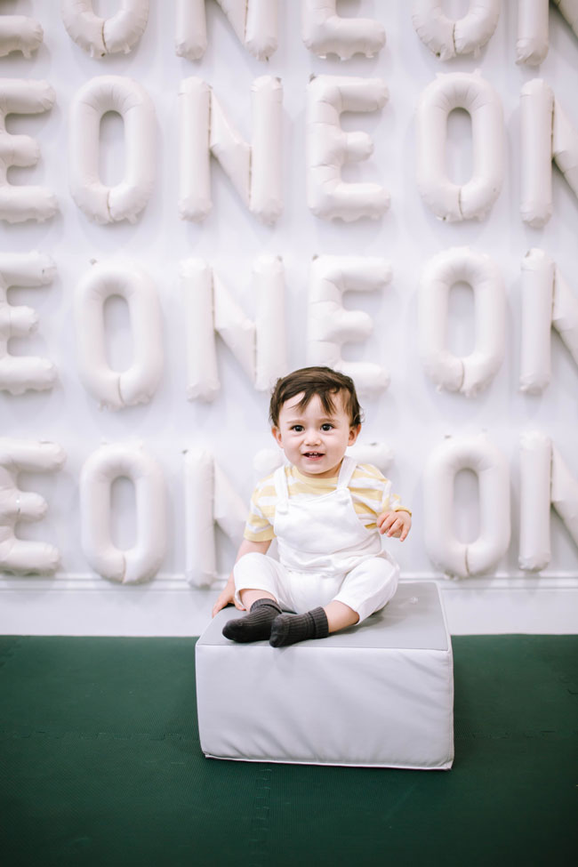 Milk Themed 1st Birthday Party ONE Balloon Backdrop