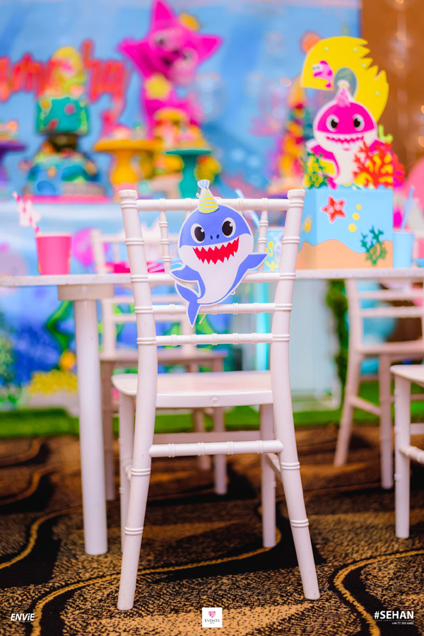 Baby Shark Chair Decoration