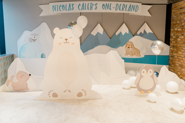 Winter One-Derland Party Decorations