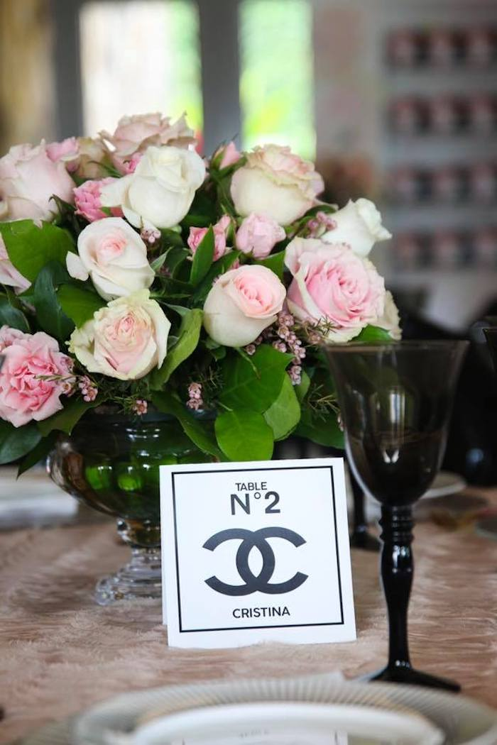 Chanel Table Numbers