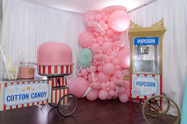 Cotton Candy and Popcorn