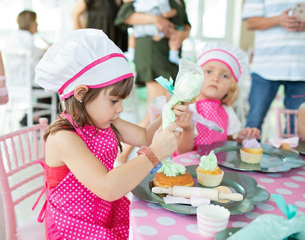 Cupcake and Donut Making Party Activity