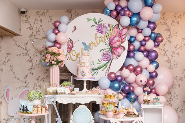 Alice In Wonderland 1st Birthday Decorations