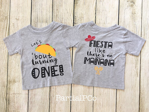 Taco Bout A Party Fiesta Birthday Shirt
