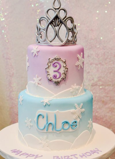Frozen-party-cake