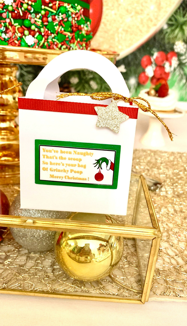 Grinch Party Favors
