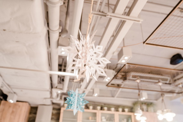 Hanging Snowflake Decorations