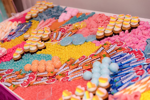 Colorful Candy Board