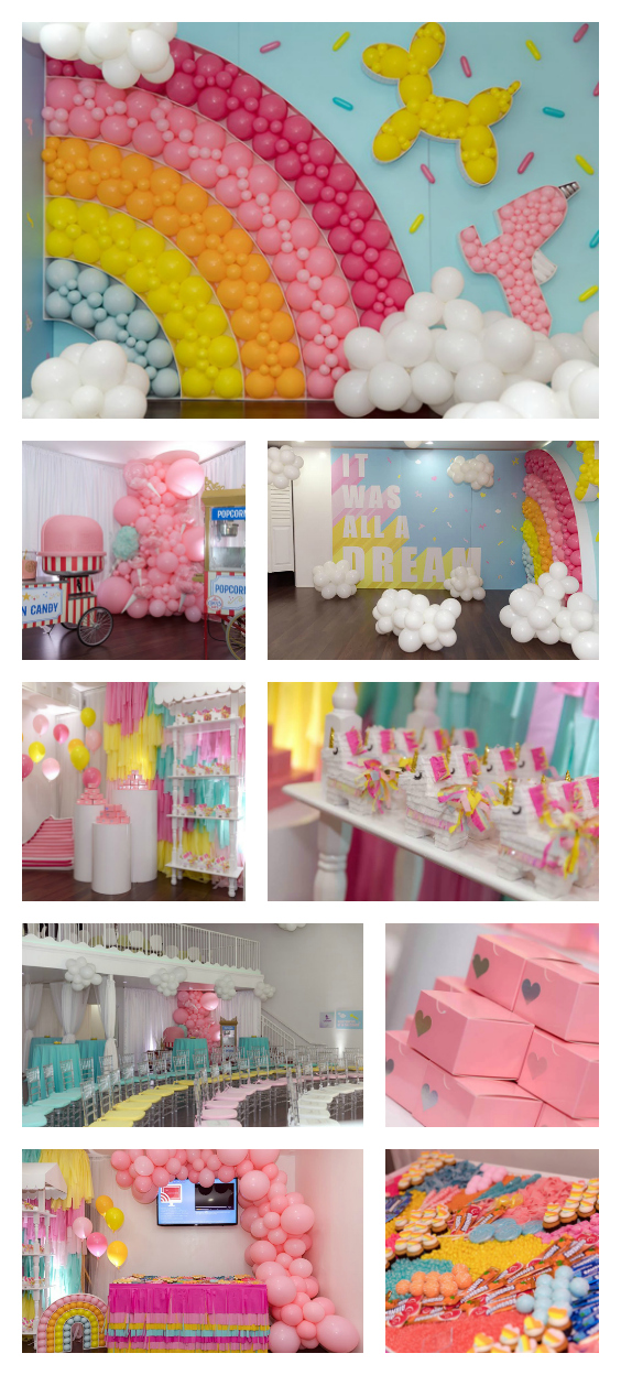 Rainbow Dream Party on Pretty My Party