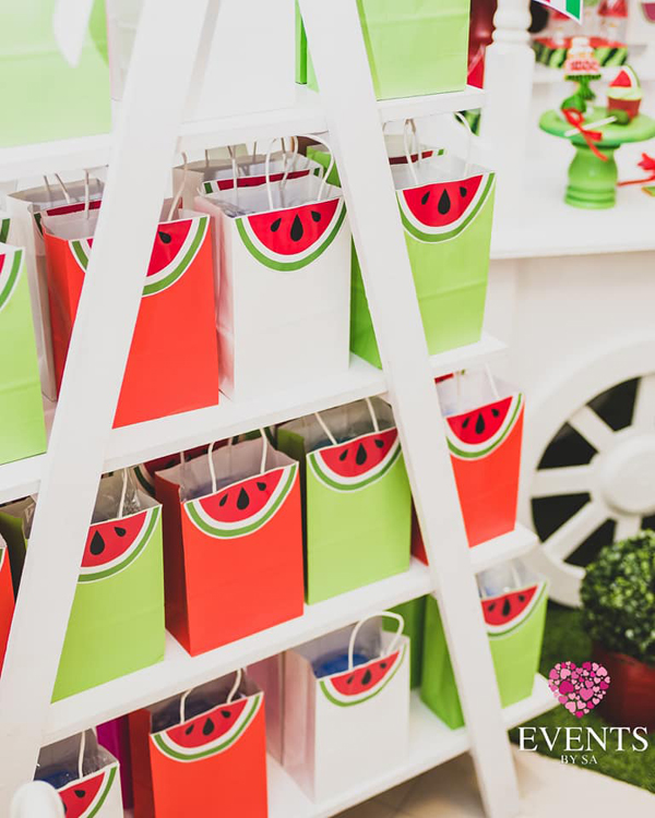 Watermelon Party Favor Bags