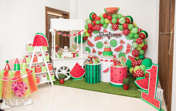 Watermelon 1st birthday ideas