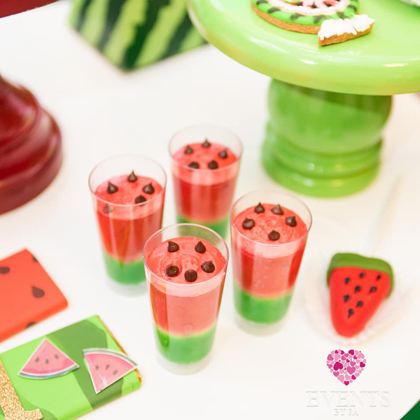 Watermelon party desserts