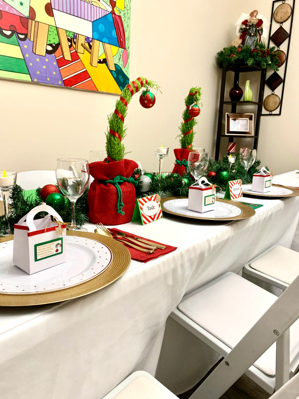 Grinch Centerpieces