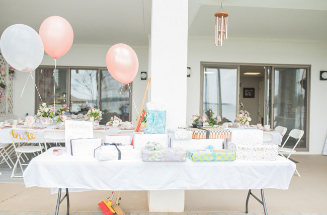 Chic Tea Party Themed Bridal Shower