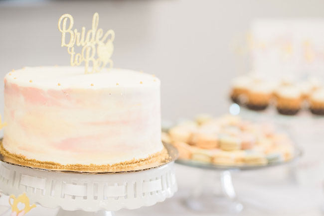 Bride-To-Be Cake Topper