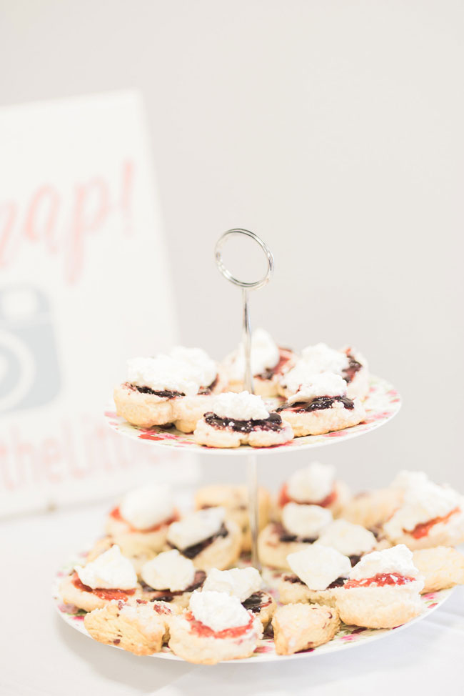 Tea Party Bridal Shower Desserts
