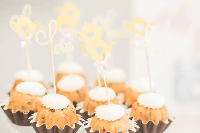 Tea Party Dessert Toppers