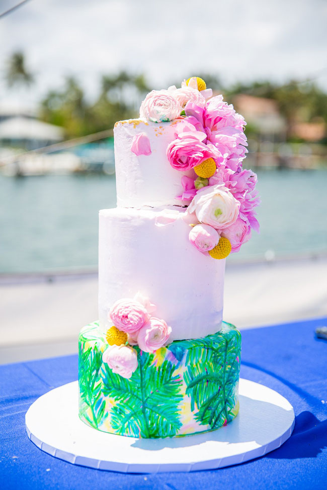 Lily Pulitzer Themed Cake