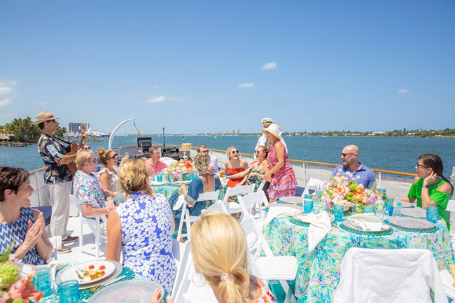 Lily Pulitzer Themed 50th Birthday Party