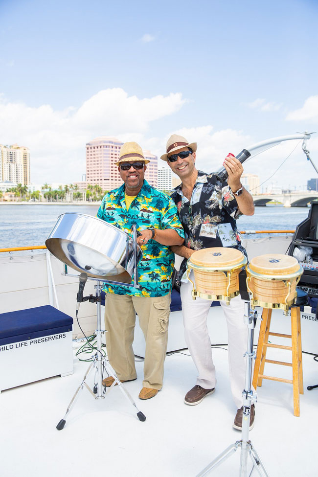 Band for 50th birthday celebration on a yacht