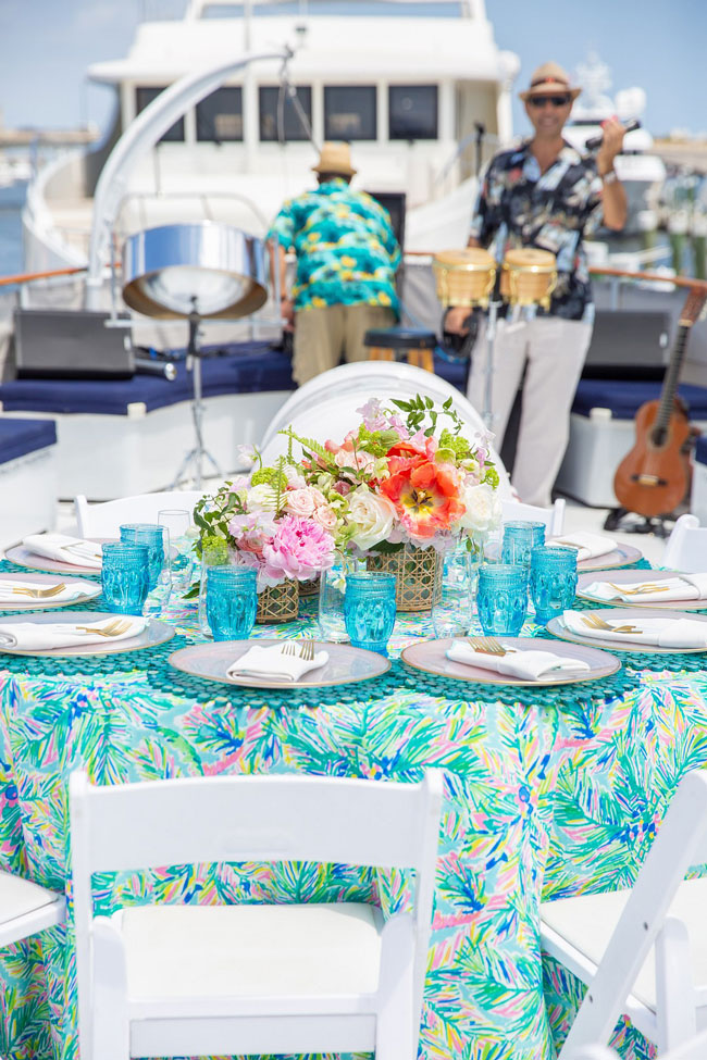 Lily Pulitzer Themed Birthday Party Ideas