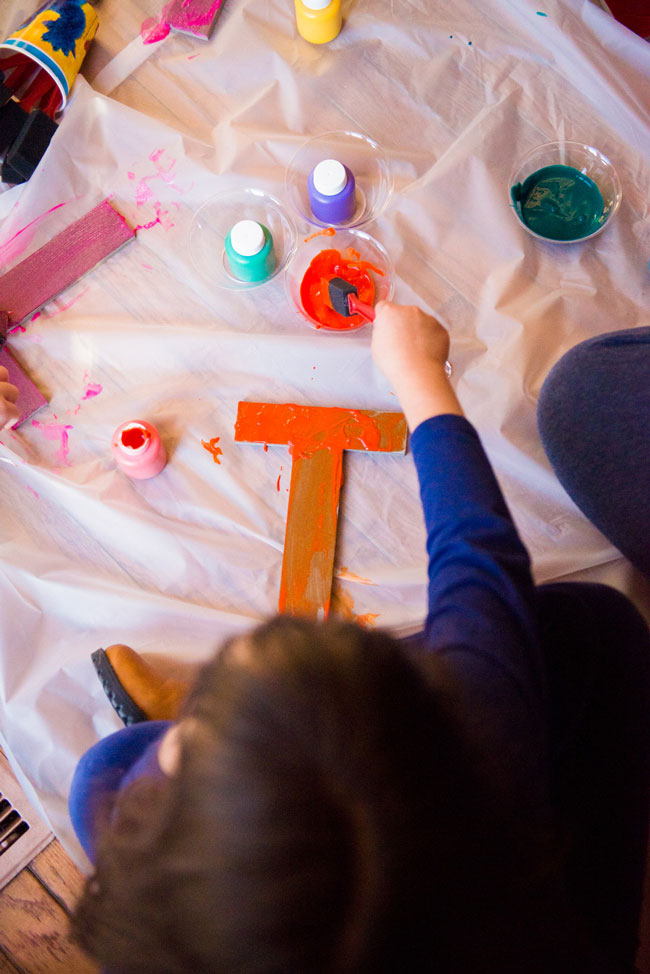 Sesame Street Party Painting Activity