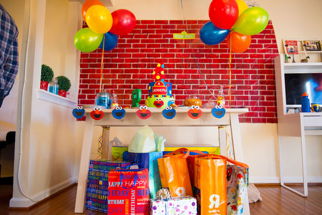 Sesame Street Party Gifts