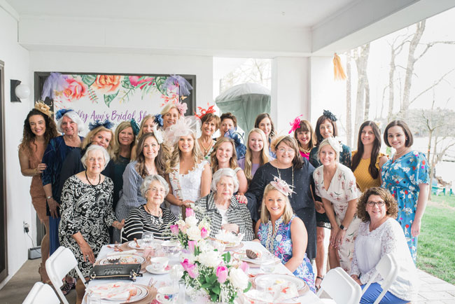 Chic Tea Party Bridal Shower