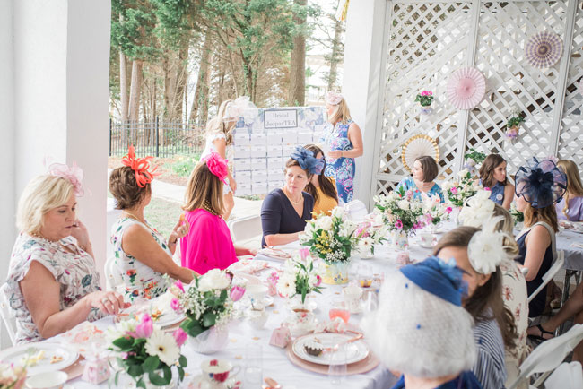 Chic Tea Party Bridal Shower Game