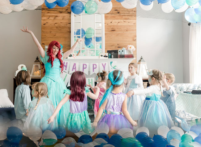 Ariel Under the Sea Birthday Party