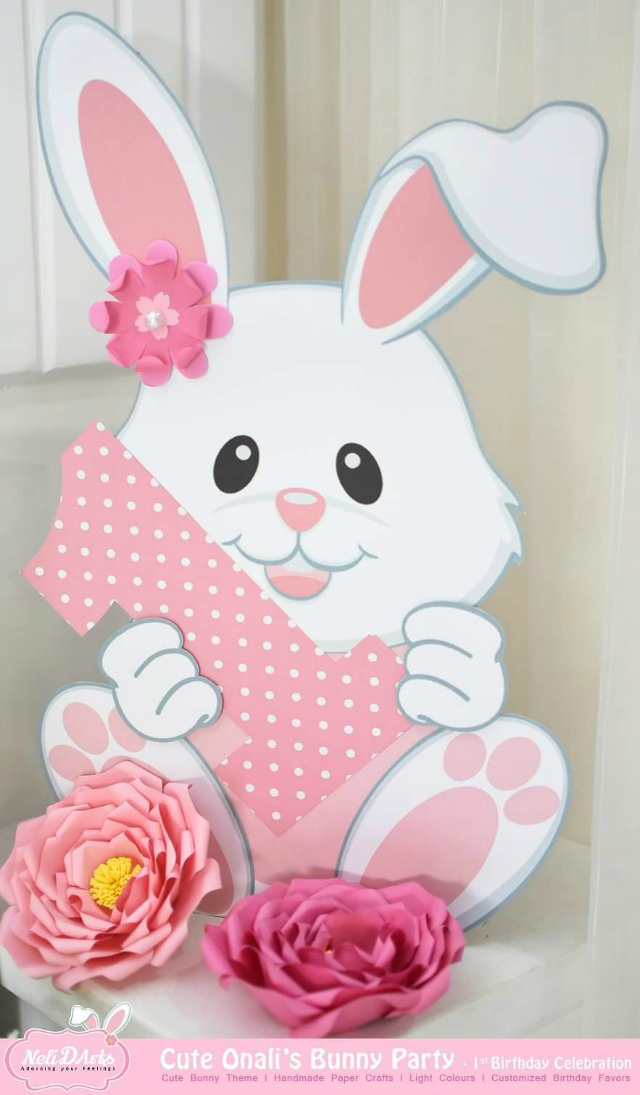 Bunny Party Decoration