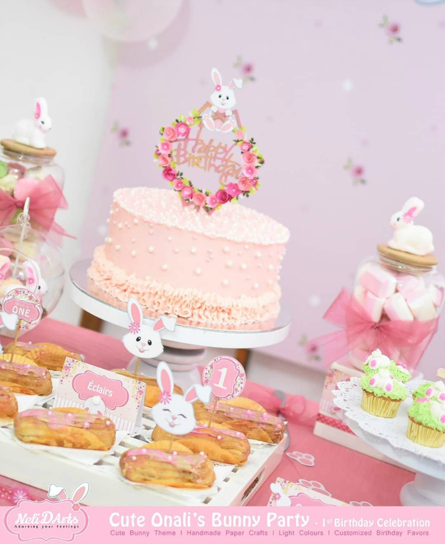 Bunny Party Desserts
