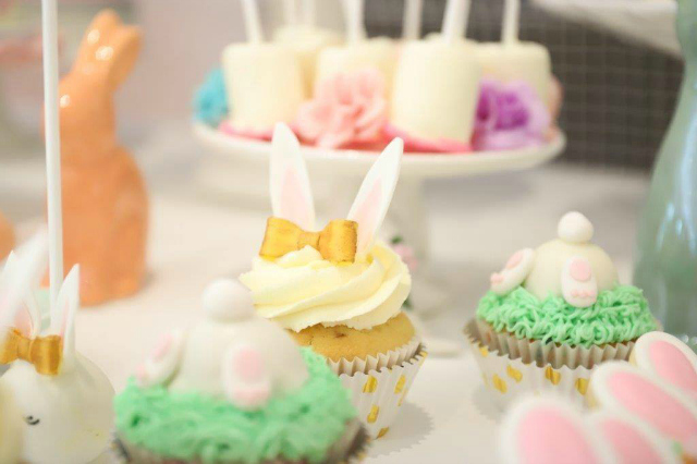 Some Bunny Is One Bunny Cupcakes