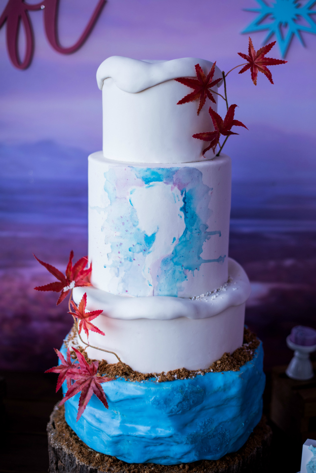 Frozen 2 Birthday Cake