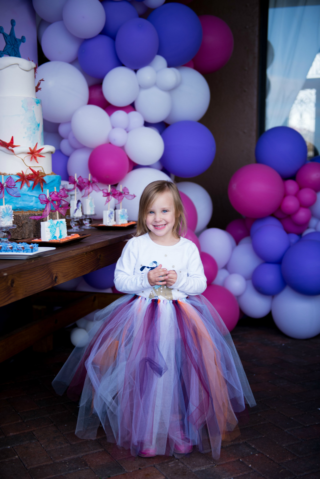 Frozen Birthday Tutu