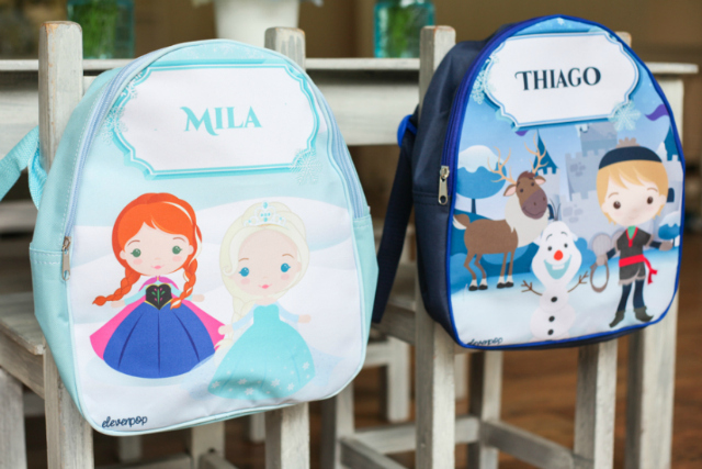 Frozen Book Bags For Kids