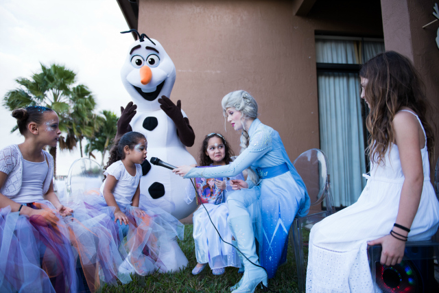 Frozen Elsa and Olaf
