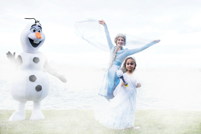 Frozen Birthday Party With Olaf and Elsa