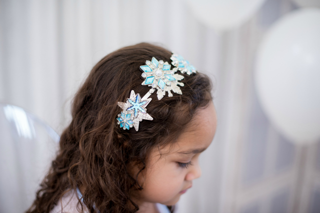 Frozen 2 Party Crystal Snowflake Headband